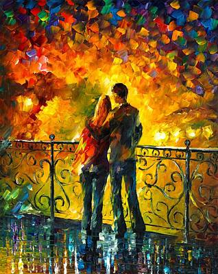 Last Date Poster by Leonid Afremov