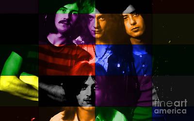 Led Zeppelin Poster by Marvin Blaine