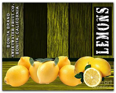 Lemon Farm Poster by Marvin Blaine