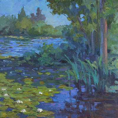 Lily Pond Poster by Diane McClary