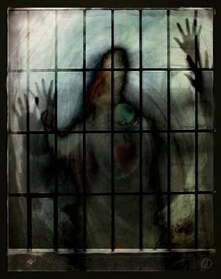 Locked In Poster by Gun Legler