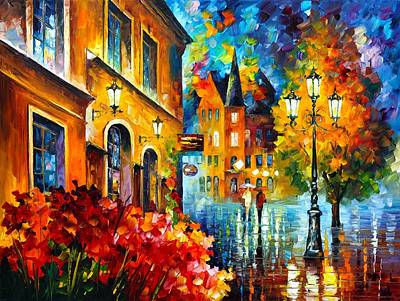 Lucky Night Poster by Leonid Afremov