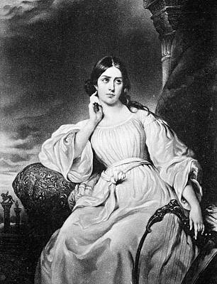 Maria Malibran (1808-1836) Poster by Granger