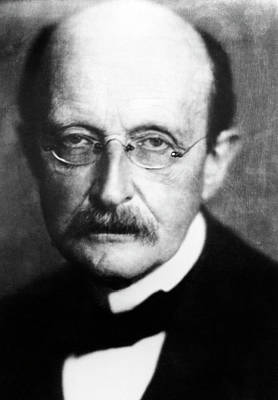 Max Planck Poster by Emilio Segre Visual Archives/american Institute Of Physics