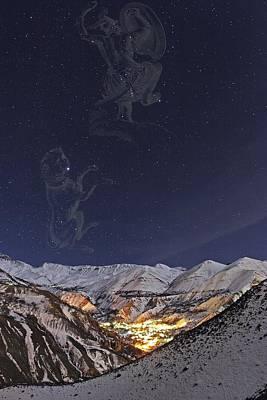 Milky Way Over The Alborz Mountains, Poster by Babak Tafreshi