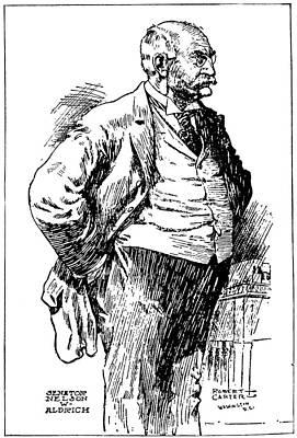 Nelson Wilmarth Aldrich (1841-1915) Poster by Granger