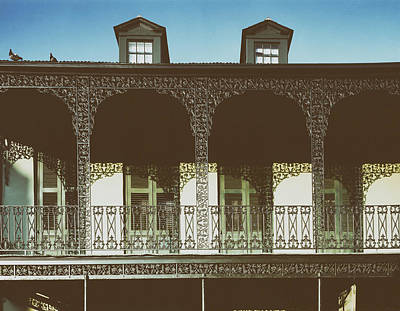 New Orleans Ironwork Poster by Mountain Dreams