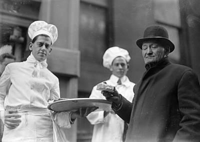 New York Bread Line, 1915 Poster by Granger