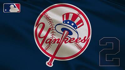 New York Yankees Derek Jeter Poster by Joe Hamilton