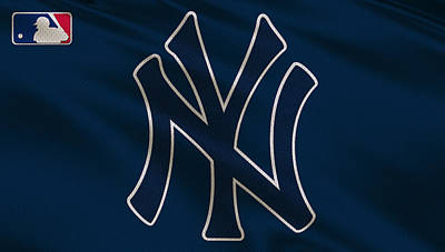 New York Yankees Uniform Poster by Joe Hamilton