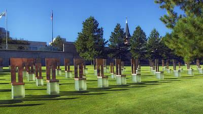 Oklahoma City Federal Building Bombing Memorial Poster by Mountain Dreams
