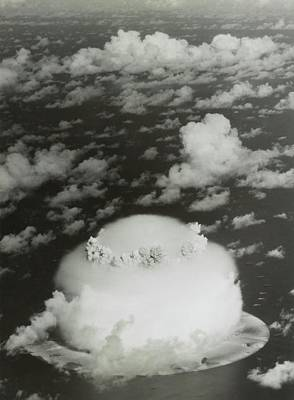 Operation Crossroads Atom Bomb Test Poster by Library Of Congress
