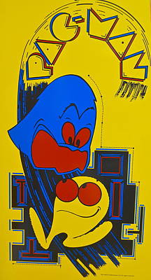 Pac Man Poster by Frozen in Time Fine Art Photography