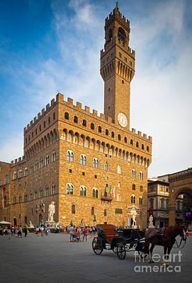 Palazzo Vecchio Poster by Inge Johnsson