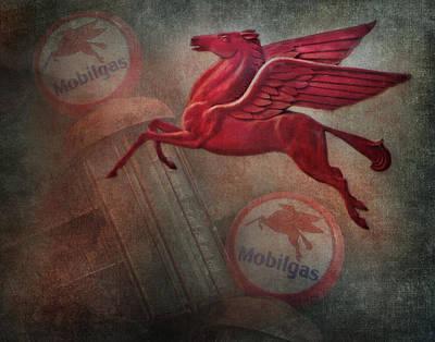 Pegasus Poster by David and Carol Kelly