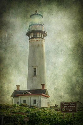 Pigeon Point Light Station Poster by Erik Brede