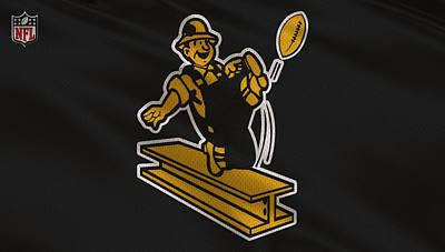 Pittsburgh Steelers Uniform Poster by Joe Hamilton