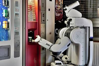 Pr2 Robot Research Poster by Patrick Landmann