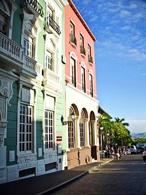 Puerto Rico, Old San Juan, Street Poster by Miva Stock