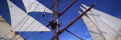Rigging Of A Tall Ship, Finistere Poster by Panoramic Images