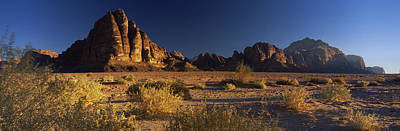 Rock Formations On A Landscape, Seven Poster by Panoramic Images
