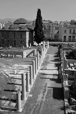 Roman Market Poster by George Atsametakis