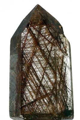Rutilated Quartz Poster by Science Photo Library