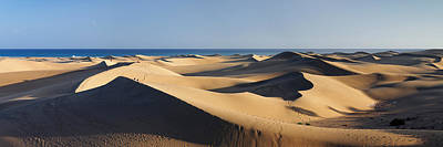 Sand Dunes In A Desert, Maspalomas Poster by Panoramic Images