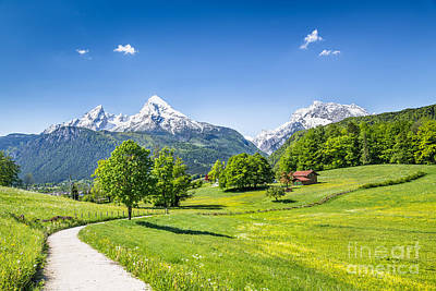 Scenic Bavaria Poster by JR Photography