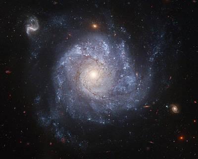 Spiral Galaxy Poster by Nasa