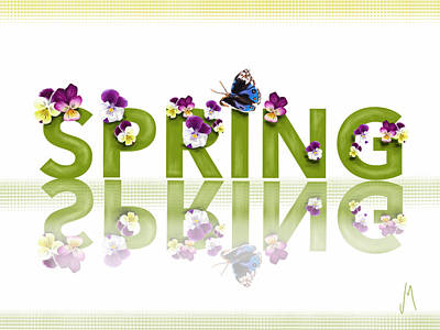 Spring Poster by Veronica Minozzi