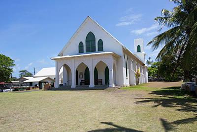 St Francis Church, Kalaupapa Town Poster by Douglas Peebles