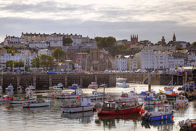 St Peter Port - Guernsey Poster by Joana Kruse
