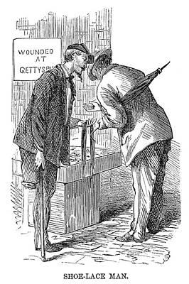 Street Peddler, 1868 Poster by Granger