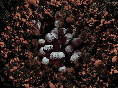 Streptococcus Pyogenes Bacteria Poster by Hipersynteza