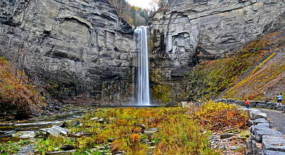 Taughannock Falls Poster by Frozen in Time Fine Art Photography