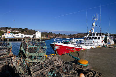 The Fishing Harbour, Dunmore East Poster by Panoramic Images