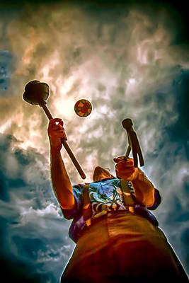 The Juggler Poster by John Haldane
