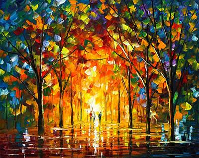 The Return Of The Sun Poster by Leonid Afremov