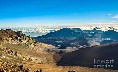 The Summit Of Haleakala Volcano In Maui. Poster by Jamie Pham