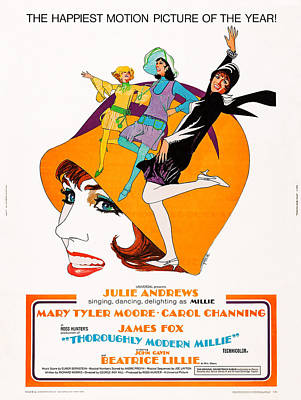 Thoroughly Modern Millie, Us Poster Poster by Everett