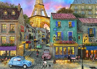 The Venetian Sunset Poster by Dominic Davison