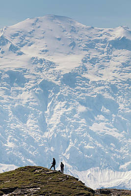 Usa, Alaska, Denali National Park Poster by Hugh Rose