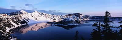 Usa, Oregon, Crater Lake National Park Poster by Paul Souders