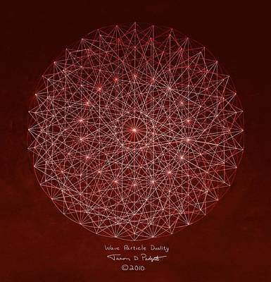 Wave Particle Duality Poster by Jason Padgett