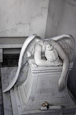 Weeping Angel Vi Poster by Chris Moore