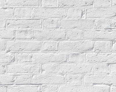 White Brick Wall Poster by Dutourdumonde Photography