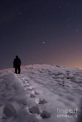 Winter Stars Poster by Babak Tafreshi