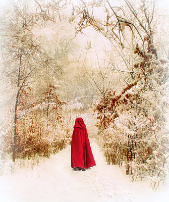 Winter Walk Poster by Jessica Jenney