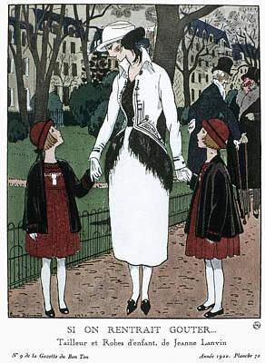 Women's Fashion, 1920 Poster by Granger
